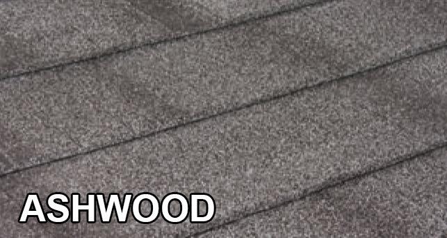 Okno-dach Tilcor Shingle Ashwood