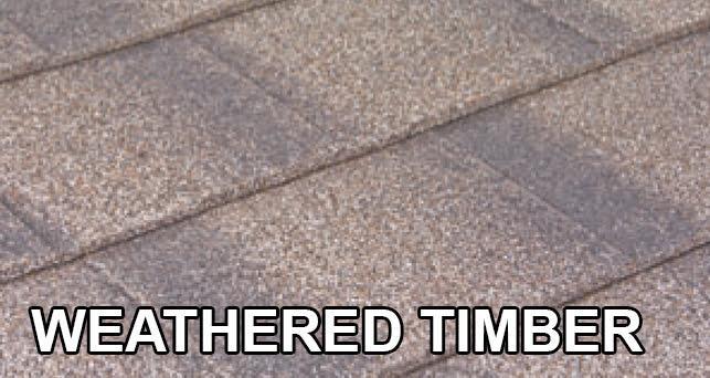 Okno-dach Tilcor Shingle Weathered timber