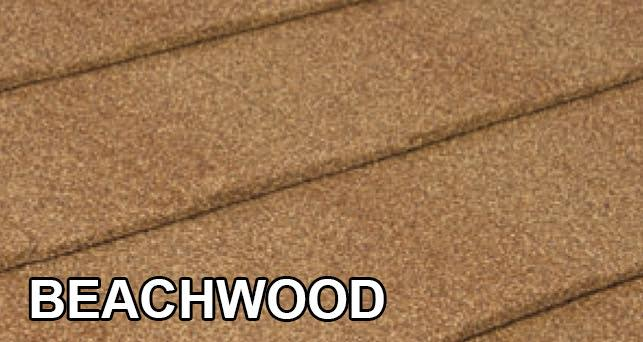 Okno-dach Tilcor Shingle Beachwood